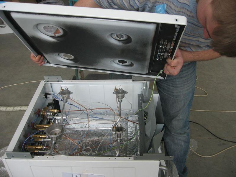 Ремонт газовой плиты своими руками термопара